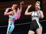 The new classic: Iggy Azalea seems to enjoy her personalised tracksuits
