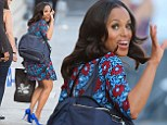 Kerry Washington is seen at 'Jimmy Kimmel Live' in California