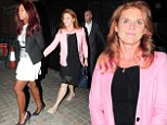 Fergie heads to Chiltern Firehouse for night out with glamorous friends
