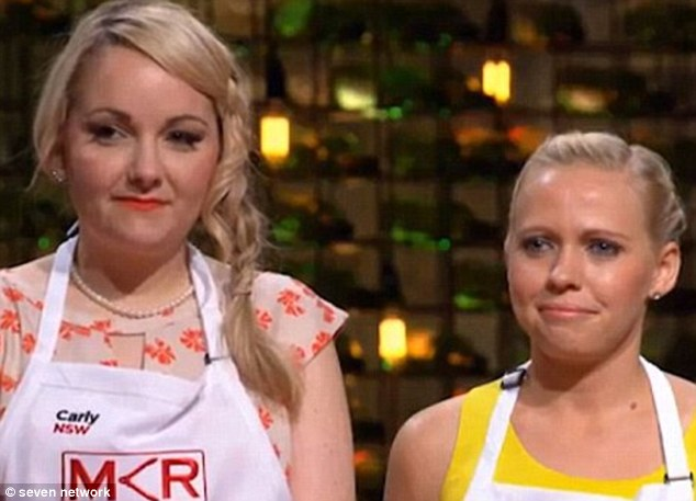 """Popular pair: Representing NSW in the last season of My Kitchen Rules, the couple originally decided not to reveal their lesbian relationship, instead being labelled """"besties"""" before coming out to viewers"""