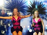 Spinning around: Kylie Minogue performs at the Commonwealth Games closing ceremony in Glasgow on Sunday