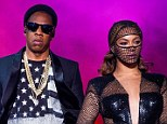 Bad news: Beyoncé, 32, and Jay-Z, 44 - pictured performing in Texas on July 22 - are staying in separate hotels and arriving separately to each show while on their On The Run world tour, according to a source
