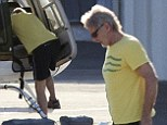 Harrison Ford is free of his plaster cast for his broken ankle