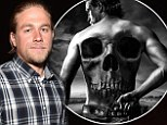 Charlie Hunnam looks like he's in character as Jax while attending Sons Of Anarchy event... as a cryptic poster for final season is released