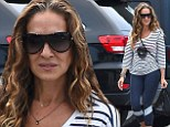 What would Carrie say! Sarah Jessica Parker goes make-up free as she hits the gym in Lycra leggings and puppy-print top