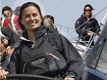 Once on board the yacht, Pippa even took the wheel for a spell, looking confident as she handled the craft