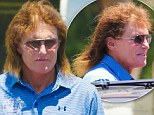 Run out of conditioner? Bruce Jenner looks to be having a bad hair day as the wind ruffles his shockingly dry locks