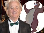 A bear necessity! Comedy star Bill Murray to play Baloo in Disney Jungle Book remake