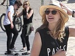 'They speak all the time and enjoying hanging out': Chloe Moretz, 17, and Brooklyn Beckham, 15, are 'dating after meeting at Paris Fashion Week'