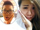 Japanese trend for 'cavity pose' sees fashion models appear to have toothaches 'to make their faces look slimmer'