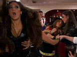 'She ripped out my hair!': A costume party 'gets real nasty' between Nicole Napolitano and Amber Marchese on the Real Housewives of New Jersey