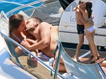 1D's Liam Payne shares passionate kisses with girlfriend Sophia Smith as they enjoy a romantic day on luxury yacht in France