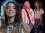 Check it out! Kristen Bell and Sarah Hyland can be seen in the Hollywood Bowl production of Hair from Friday through Sunday