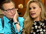 'I don't think it's a past tense thing!' Anna Paquin schools Larry King as he questions her bisexuality