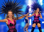 Kinky boots! Showgirl Kylie Minogue, 46, defies her age in thigh-high leather heels and corset for epic Commonwealth Games closing ceremony performance
