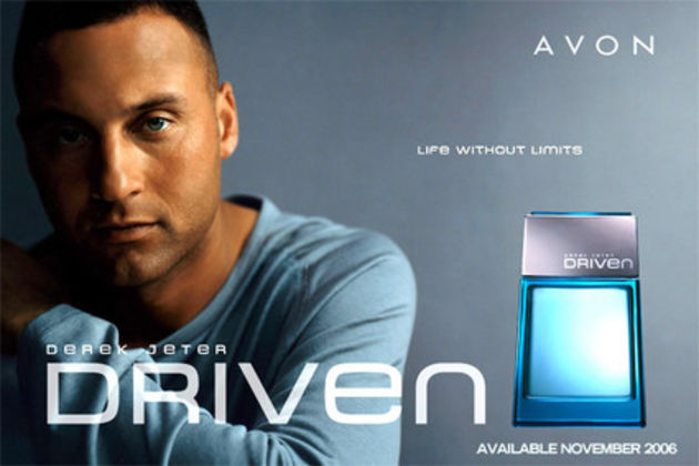 Baseball star Derek Jeter is the name and face of several colognes including his first scent, Driven.