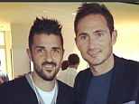 New teammates: New York City have managed to sign David Villa and Frank Lampard this summer