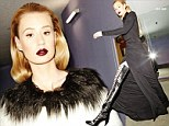 Shooting for the thigh: Iggy Azalea dons her favourite pair of shoes for the recent 10 magazine cover shoot