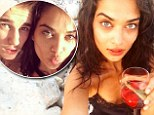 Her Bieber Fever has died down! Shanina Shaik relaxes on her lonesome in Ibiza after sharing in a selfie with bad boy pop star