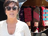 Kris Jenner again promotes her troubled son Rob Kardashian's sock line on Instagram as she insists she's 'proud' of him