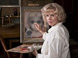 Amy Adams sports blonde bob wig to play artist Margaret Keane in first stills from her new film Big Eyes