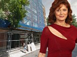 Susan Sarandon's New York City home burglarized by ladder while she was out of town... thief made off with jewelry and a computer
