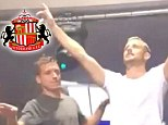 Lee Cattermole dancing on his night out
