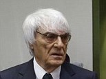 Deal on table: Formula One boss Bernie Ecclestone arrives his wife Fabiana Flosi (seated left) for his trial in Munich, where prosecutors have offered to drop bribery charges against him in exchange for £60million