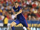 LANDOVER, MD - JULY 29:  Tom Cleverley of Manchester United in action during the pre-season friendly between Manchester United and Inter Milan at FedExField on July 29, 2014 in Landover, Maryland.  (Photo by Matthew Peters/Man Utd via Getty Images)