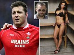 Welsh rugby star Ian Gough has been found guilty of assaulting his ex-partner, just days after she got engaged to former pop star Dane Bowers.