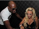 Images posted on instgarm by DORALIE MEDINA of her and Floyd Mayweather