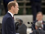 The Duke of Cambridge speaks during a ceremony at the Cointe Inter-allied Memorial, Liege, Belgium, commemorating the 100th anniversary of the start of the First World War. PRESS ASSOCIATION Photo. Picture date: Monday August 4, 2014. See PA story HISTORY Centenary. Photo credit should read: Jonathan Brady/PA Wire