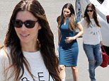 'Well done' Jessica! Amazing Ms. Biel makes a quick change from comfy sweater to clingy blue dress on set of New Girl