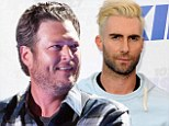 'Adam's a d*****bag': Blake Shelton insults fellow The Voice judge Adam Levine during concert
