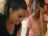 'I want to adopt her!' Kim Kardashian 'falls in love' with a Thai orphan while on holiday