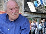 Dumbledore returns! Harry Potter star Sir Michael Gambon wears pyjamas as filming begins on JK Rowling's A Casual Vacancy