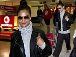 Back to reality! Shanina Shaik arrives in Sydney after Ibiza adventures with Justin Beiber and ex-boyfriend Tyson Beckford
