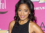 """FILE - This Oct. 26, 2013 file photo shows actress Keke Palmer at the BET Network's Black Girls Rock! in Newark, N.J. Palmer will be stepping into the title role in ¿Rodgers & Hammerstein's Cinderella"""" starting Sept. 9 at the Broadway Theatre. (Photo by Charles Sykes/Invision/AP, File)"""