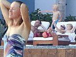 TO-                30-July-2014                   Los Cabos, Mexico EXCLUSIVE!!! Naomi Watts and Liev Schreiber with their sons Alexander and Samuel in a family trip in Los Cabos, Mexico Photo - Aquiles - Clasos.com.mx