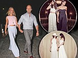 Would Rosie Huntington-Whiteley wear an up-cycled dress to walk down the aisle? Favourite label of Jason Statham's squeeze launch bridal range - and it's ALL vintage