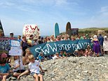Anger is mounting among holidaymakers and traders about raw human sewage being pumped into the sea yards from crowded seaside beaches.  The effluent - which carries potentially lethal germs - drifts on the tide to wash up in a filthy brown 'tidal wave' where children are building sandcastles and paddling.  The protests are coming from resorts as far apart as Hampshire and Cornwall, just as millions of families head for the coast on their annual summer holidays.  Instead of enjoying the sun and relaxing by the sea, parents are anxiously checking that their youngsters are not playing in untreated sewage.  And hotels, B and B owners and beachside traders are worried that it will drive away holidaymakers who don't want to run the risk of catching an infection.