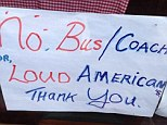 Causing offence: Peter's Place cafe in Waterville, County Kerry, has banned 'loud Americans' from its establishment