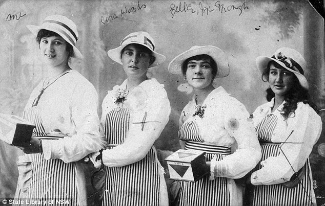 Australian women played a crucial role back home while their husbands and sons were fighting in WWI
