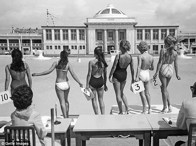 Flashback: The final of the 1970 Miss Blackpool Beauty competition, which was held at Blackpool Lido each summer