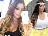 'I LOVE it!!!' New mother JWoww swaps her trademark brunette locks for a pretty golden blonde 'do