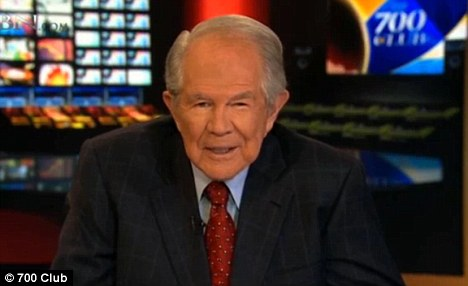 Defense: Pat Robertson, a conservative Evangelical broadcaster, seemed to imply that David Petraeus' affair was understandable