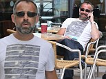 Coronation Street actor Michael Le Vell is spotted walking around Media City in Manchester