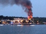 A home in Port Washington, New York exploded Tuesday night, around 8:30pm.