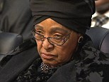Winnie Madikizela-Mandela, who has launched a legal challenge against the former South African leader's will insisiting she is entitled to the rural estate where he is buried