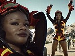 2717431 Breaking the Banks? Azealia hopes to finally catch on with release of racy video for new single Heavy Metal And Reflective